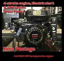 6.5HP Elec Start Petrol Stationary Engine 4stroke Motor OHV Horizontal Shaft
