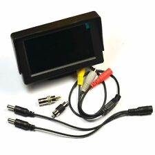4.3 inch TFT LCD Audio Video Security Tester CCTV Camera Test Monitor