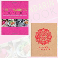 Rosa's Thai Cafe and Sweet Mandarin Cookbook 2 Books Collection Set, Hardback