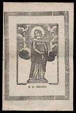 santino stampa popolare 1800 MARIA SS. ADDOLORATA-COMISO