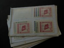 VIETNAM : North. Very interesting group of Mint & Used on Old Time approval pgs.