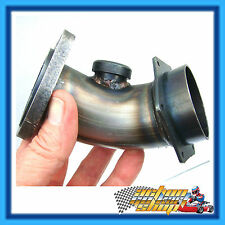 Go Kart 40mm Exhaust Power Header + Oxy Sensor Fitting Yamaha KT100S Engine