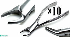 10× Forcep 150 Extracting Root Upper Teeth Dental Surgical Premium Instruments