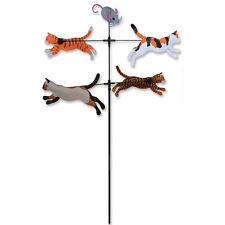 CATS Carousel Spinner Garden Stake Wind Spinner by Premier Kites & Designs