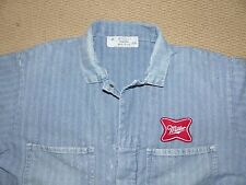 MILLER Brewing Stone Cutter Coveralls Sanforized Vintage Size 48 Union Made USA