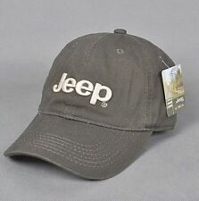 Jeep Unisex Hat Men Golf Cap Sport baseball Casual  Adjustable (Army green)