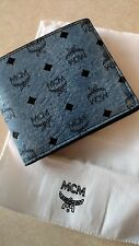 Authentic NEW MCM Two Fold Small Wallet