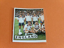 N°235 ENGLAND ANGLETERRE RECUPERATION PANINI FRANCE EURO 84 FOOTBALL 1984