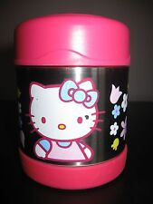 THERMOS FUNTAINER Food Jar/Soup Pink STAINLESS STEEL Insulated 10 oz. Hot/ Cold