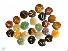 MINI RUNE STONES MIXED CRYSTAL GEMSTONE ORACLE DIVINATION POUCH INSTRUCTIONS