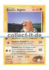 Pokemon Gym Challenge 67/132 - Brock's Diglett (Common) Englisch