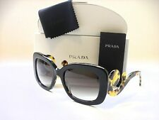 AUTHENTIC PRADA PR27OS NAI0A7 MINIMAL BAROQUE TOP BLACK/MEDIUM HAVANA SUNGLASSES