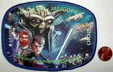 STAR WARS Marin Council CA 2010 Jamboree 533 DISNEY 2017 patch JSP YODA DELEGATE