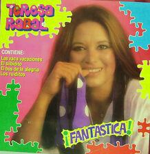 TERESA RABAL-FANTASTICA LP VINILO 1985 SPAIN EXCELLENT COVER CONDITION-