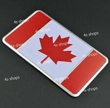 Car/Motorcycle Decal CA Canada Flag Decor Sticker 3D Emblem Badge Logo Signs