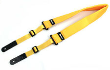 Ibanez Japan Guitar Bass Strap POWERPAD GSF50 Yellow for Acoustic Electric