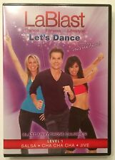 "LaBlast-Louis Van Amstel ""Let's Dance"" Level 1-Salsa-Cha Cha Cha-Jive DVD - NEW"