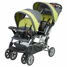 Baby Trend Sit N Stand Double STROLLER, Unisex Baby TWIN STROLLER, Carbon