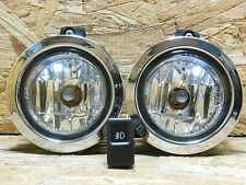 2000 2007 JDM SUBARU IMPREZA WRX GG GD CRYSTAL CHROME FOG LIGHT SET W SWITCH OEM