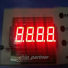 MAX7219CNG DIP-24 MAX7219 + 2pcs Common Cathode 4bit Digital Tube 0.56 Red LED