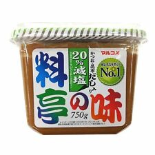 Reduced salt MISO SOUP PASTE 750g dashi soups soy from Japan Free Shipping!