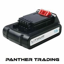 Black & Decker Slide Battery Pack 18 Volt 1.5Ah Li-ion B/DBL1518L BL1518L