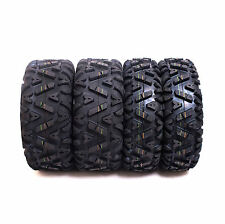 Set of 4 SunF ATV UTV Tires (2) 25x8-12 & (2) 25x10-12 6 Ply A033