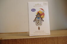 ~POOH-KOO CLOCK~WINNIE THE POOH~MAGIC~SOUND AND MOTION~2012 HALLMARK ORNAMENT~