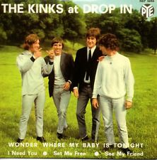 ★☆★ CD SINGLE The KINKS The Kinks at Drop In  EP - 4-TRACK CARD SLEEVE  ★☆★