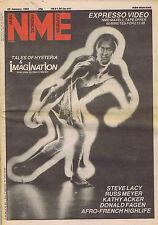 IMAGINATION / STEVE LACY / RUSS MEYER NME 22 Jan 1983