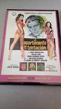 """DVD """"EL APARTAMENTO DE LA TENTACION"""" COMO NUEVA CARMEN SEVILLA JUAN LUIS GALLARD"""