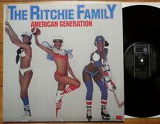 The Ritchie Family - American Generation - GER 1978 - Metronome 60.152  TOP Mint