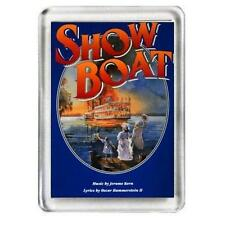 Show Boat. The Musical. Fridge Magnet.