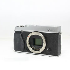 Fujifilm X series X-E1 16.3 MP  Camera   - Silver Body only XE1