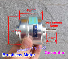 DC 24V-48V Large Torque Brushless DC Motor High Current Generator Inner Rotor
