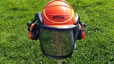 0191 STIHL Advance Helmset Gehöhrschutz Visier Kopfschutz Forsthelm TOP