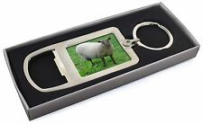 Sheep Intrigued by Camera Chrome Metal Bottle Opener Keyring in Box Gi, ASH-5MBO