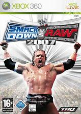 gioco SMAK DOWN  VS RAW 2007 PER XBOX 360