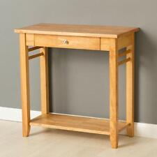 Oxford Light Console Table / Solid Hardwood Sofa Table / Oak Style Side Table