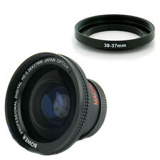 Bower 30mm 0.38x Wide Angle fisheye Lens for Sony HDR CX115 HDR CX105 CX116 NEW