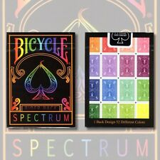 Bicycle Spectrum Deck by US Playing Card - Trick - Magic Tricks