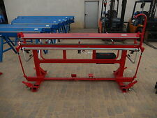 Sheet Metal Folder, Bending Brake, Bender RED PLUS 2200mm/0.8mm, NEW!!