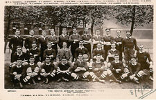 1906 South African Rugby Team, RP by Davidson vintage rugby postcard