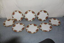 "8 Royal Albert OLD COUNTRY ROSES 8"" Salad Plates NWT"