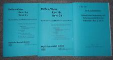 Dienstvorschrift Reflexvisier Revi 3 a, b, c, d & Revi C/12A von 1937