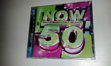 Now That's What I Call Music Vol.50 2cd SUM 41 WHEATUS KYLIE D12 AFROMAN ETC....