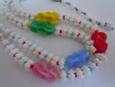 Gorgeous Vintage Signed Japan Art Glass Beaded Necklace