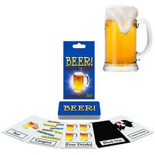 Beer! Drinking Card Game Alcohol Easy Fun Strategy Gag-Gift Drunk Adult Party