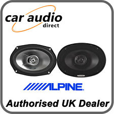 "ALPINE SXE-6925S 6x9"" 280W Car Radio Stereo Audio Speakers Door Shelf New"