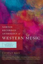 Norton Anthology of Western Music: v. 1 by J. Peter Burkholder, Claude V....